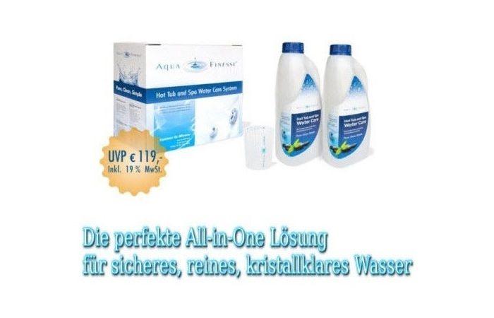 AquaFinesse mit Chlorgranulat