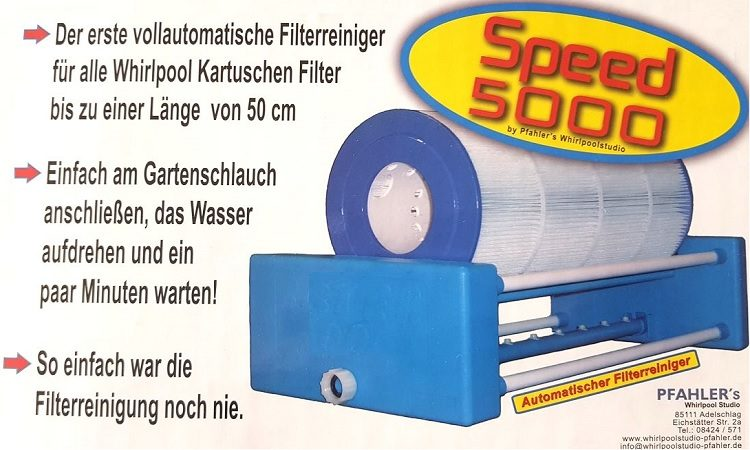 Filterreinigungsanlage Speed 5000