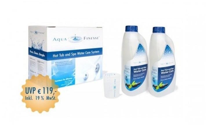 AquaFinesse mit Chlortabletten
