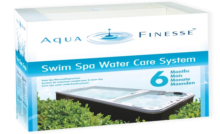 AquaFinesse Swimspa Box ohne Chlortabletten