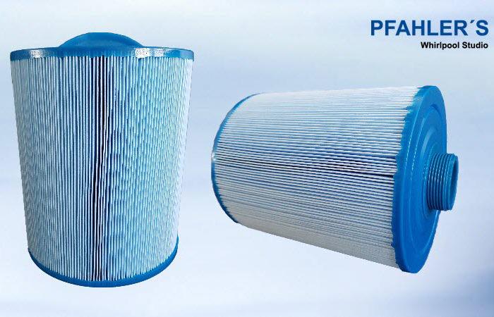 Ersatzfilter Wellis mit grobem Gewinde blau Micro Plus antibakteriell