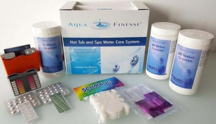 Wasserpflege Startpaket für Whirlpools2