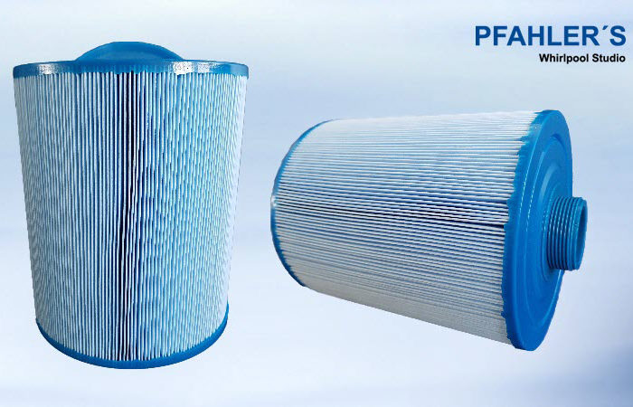 Ersatzfilter Wellis mit feinem Gewinde blau Micro Plus antibakteriell Für PeakLine , Rio Grande , Amazonas , Wellis