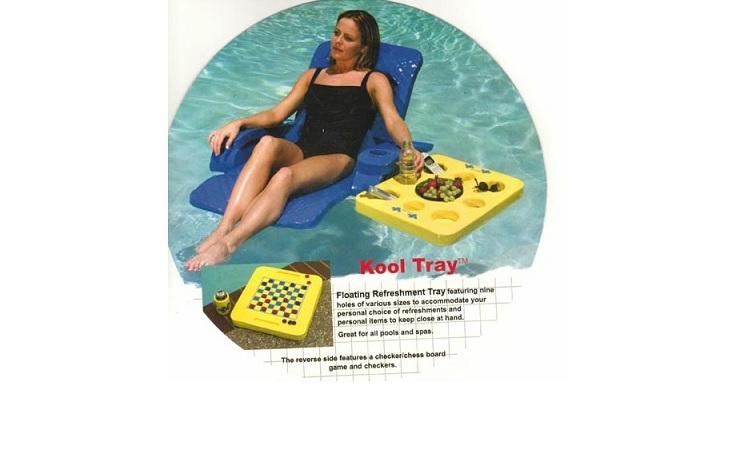 Schwimmendes Tablett