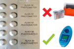 SCUBA II-Testtabletten-ALKA-M Alkalität