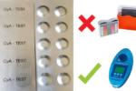 SCUBA II-Testtabletten-CyA-Test Cyanursäure