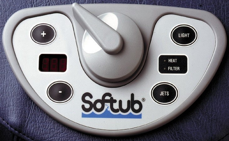 Softub controls
