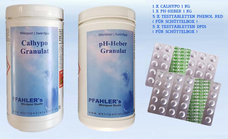 calhypo chlor ph heber basis set chlor ph testtabletten f r sch ttelbox. Black Bedroom Furniture Sets. Home Design Ideas