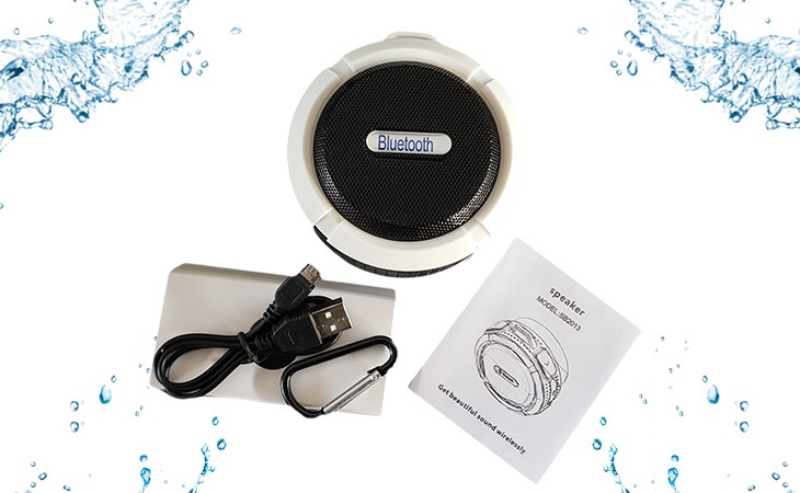 Stylischer tragbarer Bluetooth-Lautsprecher, perfekt für Zuhause und Unterwegs.