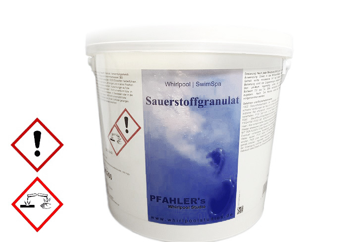 Aktivsauerstoff Granulat