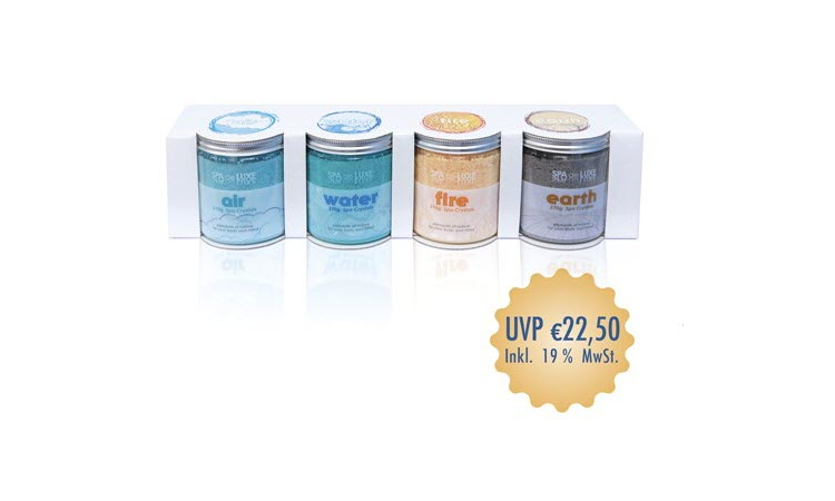 AquaFinesse Spa de Luxe Crystals 4er Set